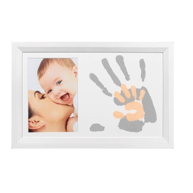 Hand en voet print Baby Art Duo Frame White (2013)