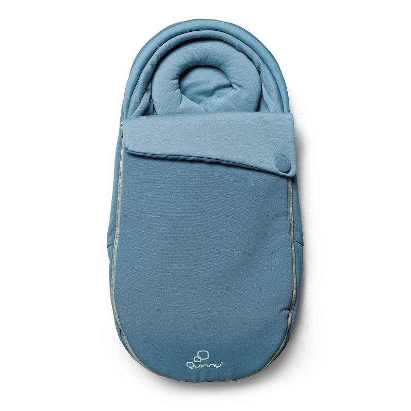 Quinny Moodd Baby Cocoon - voetenzak | Blue Charm