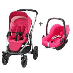 Maxi-Cosi Duo Mura Plus 4 - Berry Pink