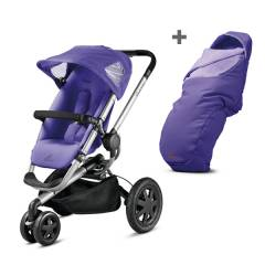 Quinny Duo Buzz 3 Xtra - Purple pace
