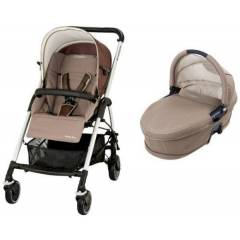 Maxi-Cosi Streety Plus kinderwagen + reiswieg | Walnut Brown