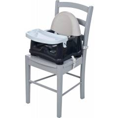 Safety 1st Swing Tray Booster Seat, Grey Patches