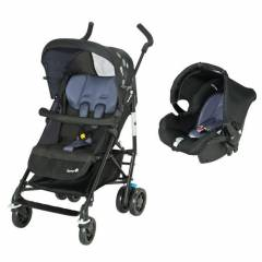 Safety 1st Easy Way Duo 2 in 1 - Buggy | Black Sky