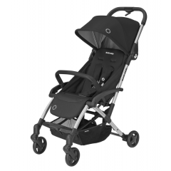 Maxi Cosi Laika 2 Baby Pushchair, Ultra Compact and Lightweight Stroller from Birth, Easy Fold, 0 Months-3.5 Years, 0-15 kg, Essential Black
